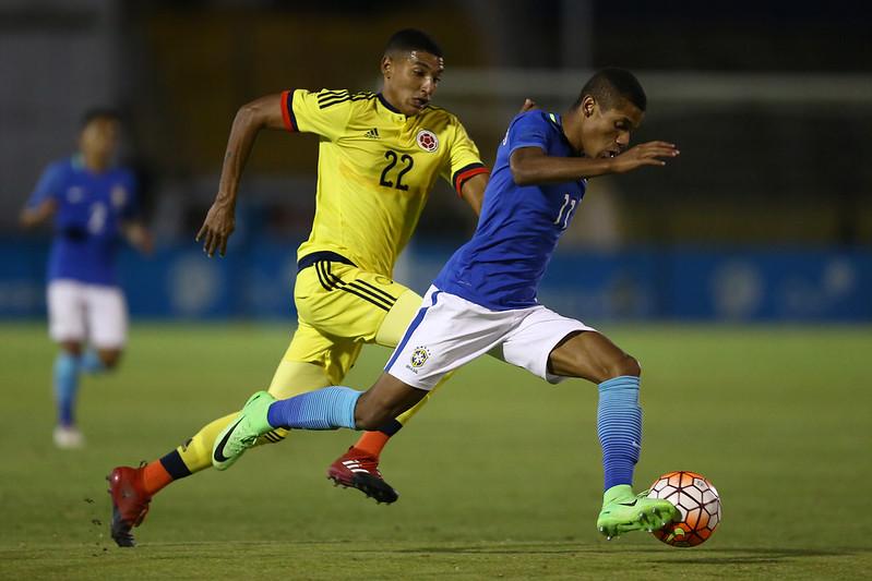 Colômbia x Brasil pelo Sul-Americano Sub20