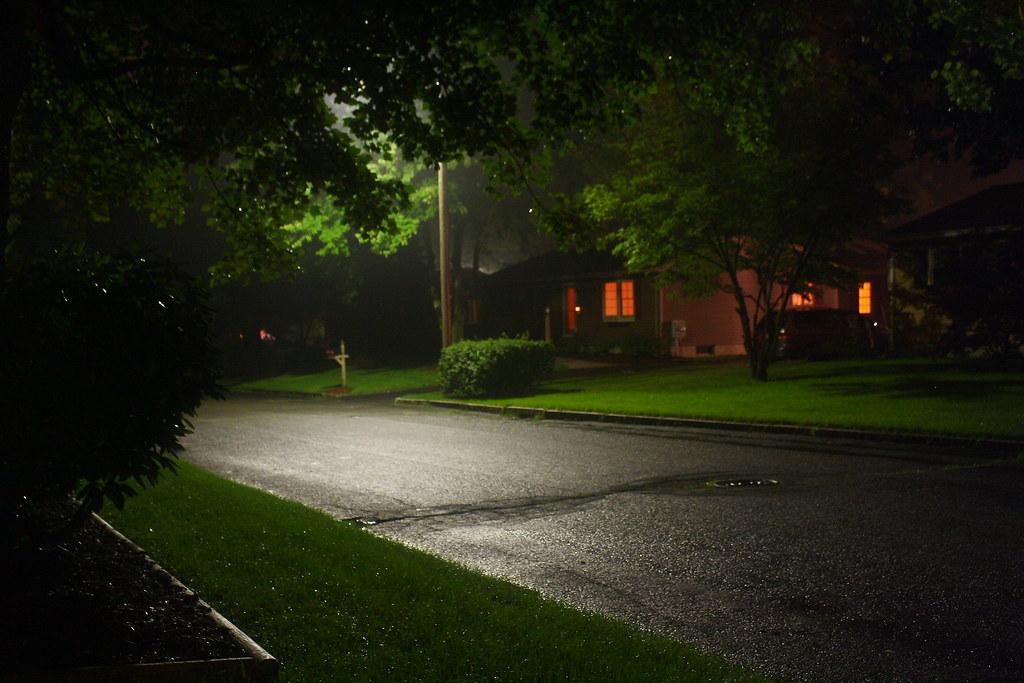 Rainy Night | A rainy night in my neighborhood in