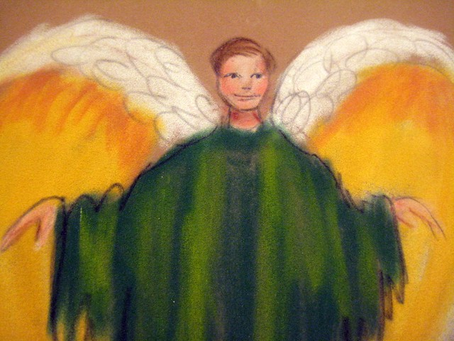 My Angel Painting- Archangel Raphael