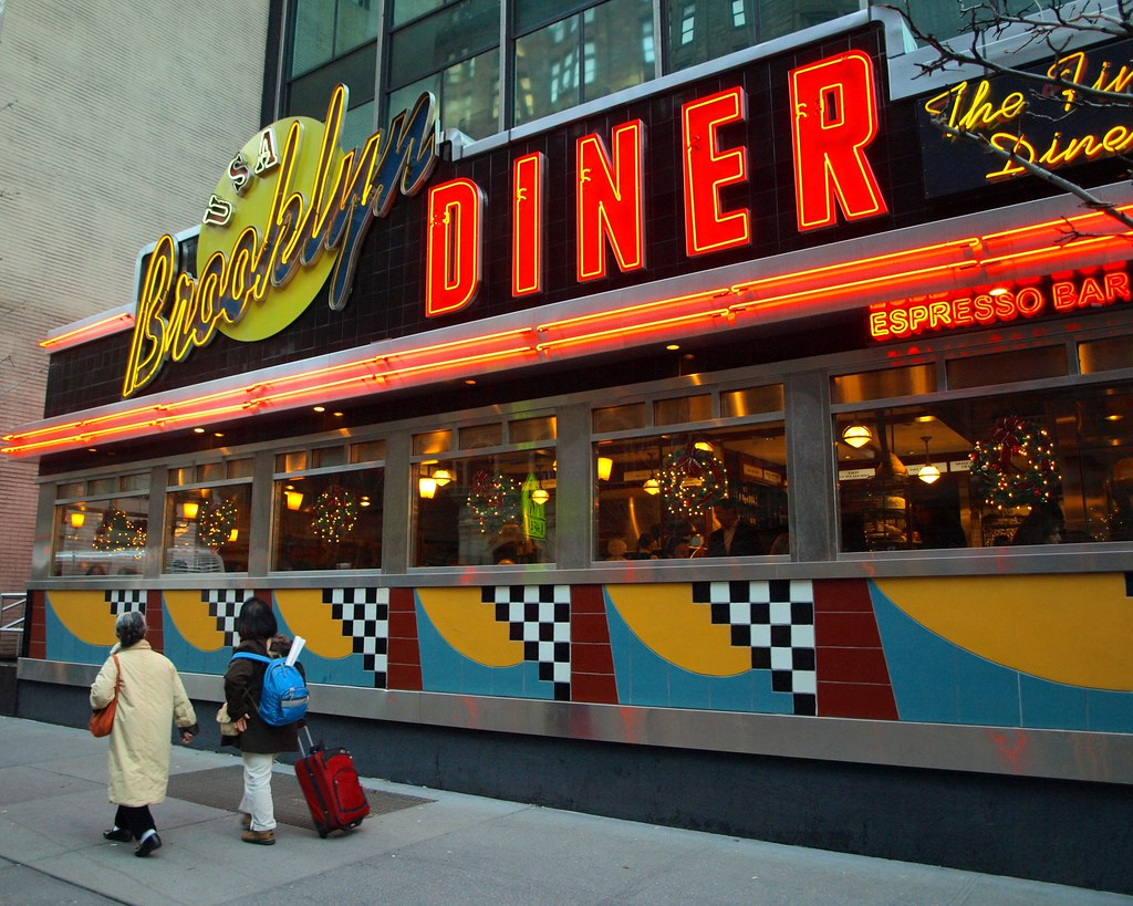 brooklyn diner usa west 57th street new york city flickr. Black Bedroom Furniture Sets. Home Design Ideas