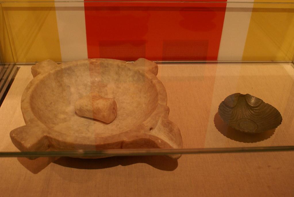 Mortero con maza de m rmol y molde para pasteler a flickr for Mortero de marmol