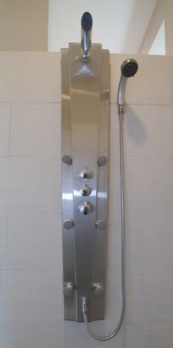Shower system w body sprays 39 cloud ridge of blaine mn for Body spray shower systems