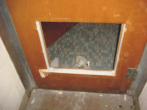 Fire Rated Asbestos Core Door Example Of A Fire Rated