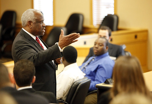 Supreme Court Justice Thomas visits Stetson University College of Law | by stetsonu