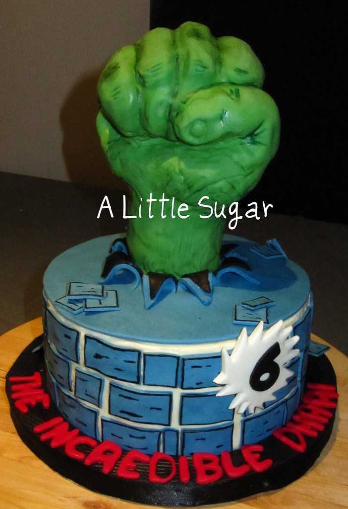 Incredible Hulk Cake Decorations