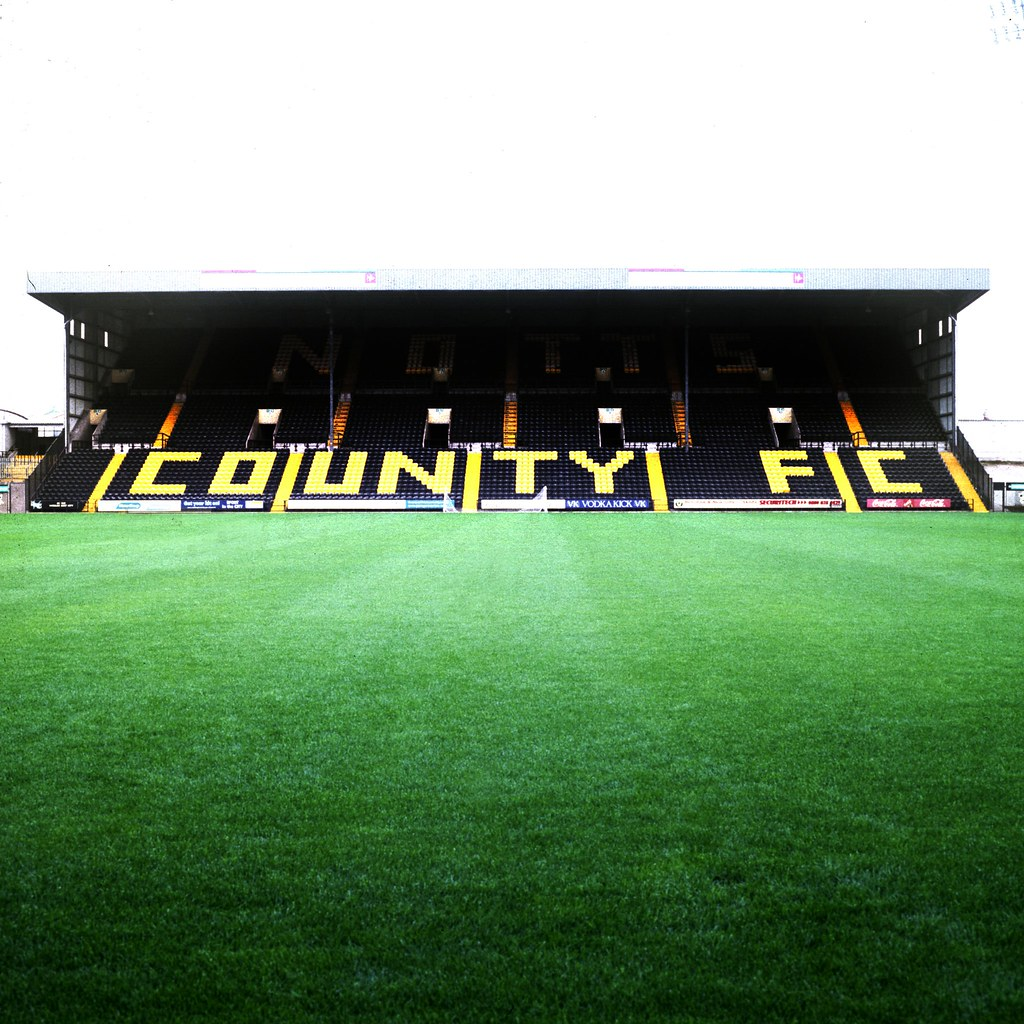 Notts County FC : The Notts County football ground is ...