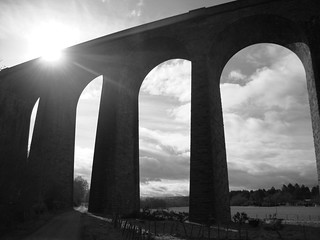 Light on the viaduct