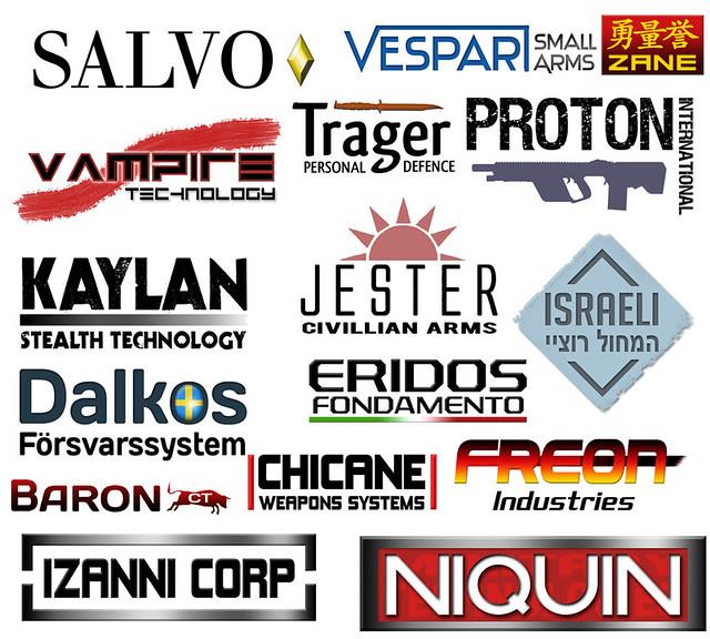 gun manufacturers logos images