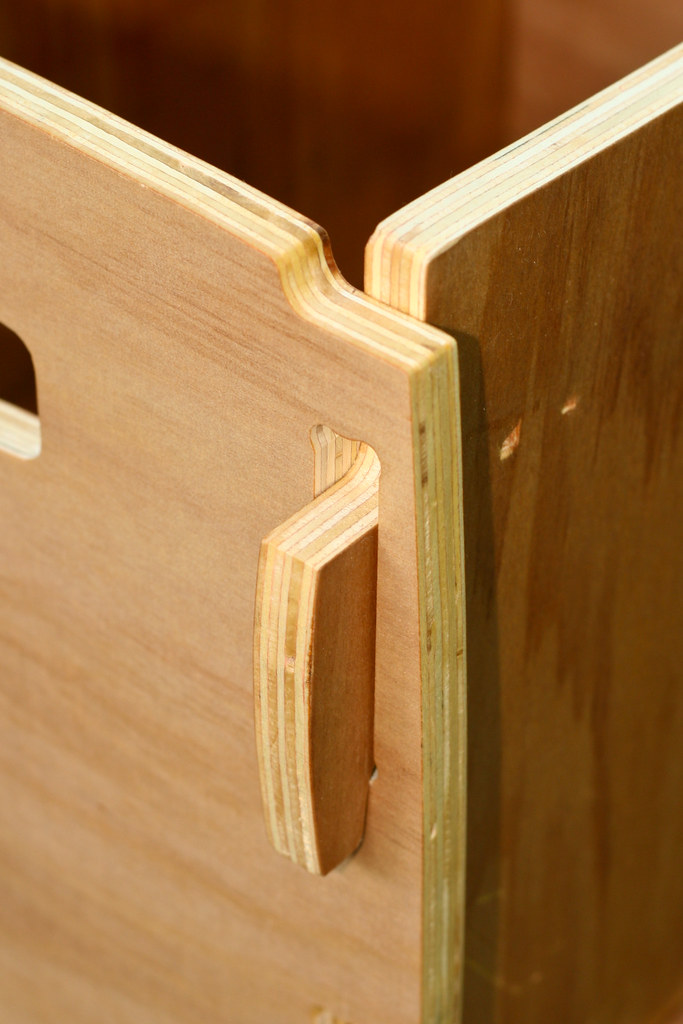 Plywood CNC Box, Joint Detail | Made from discount Agathis ...