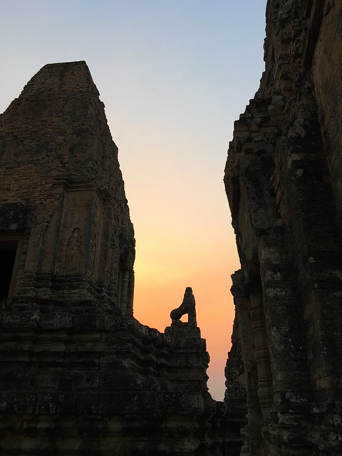 Pre Rup at sunset