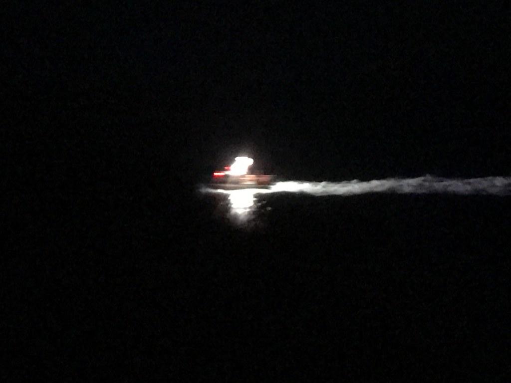 Royal caribbean diamond jubilee party a success cruise international - Coast Guard Pulling Up Alongside The Ship