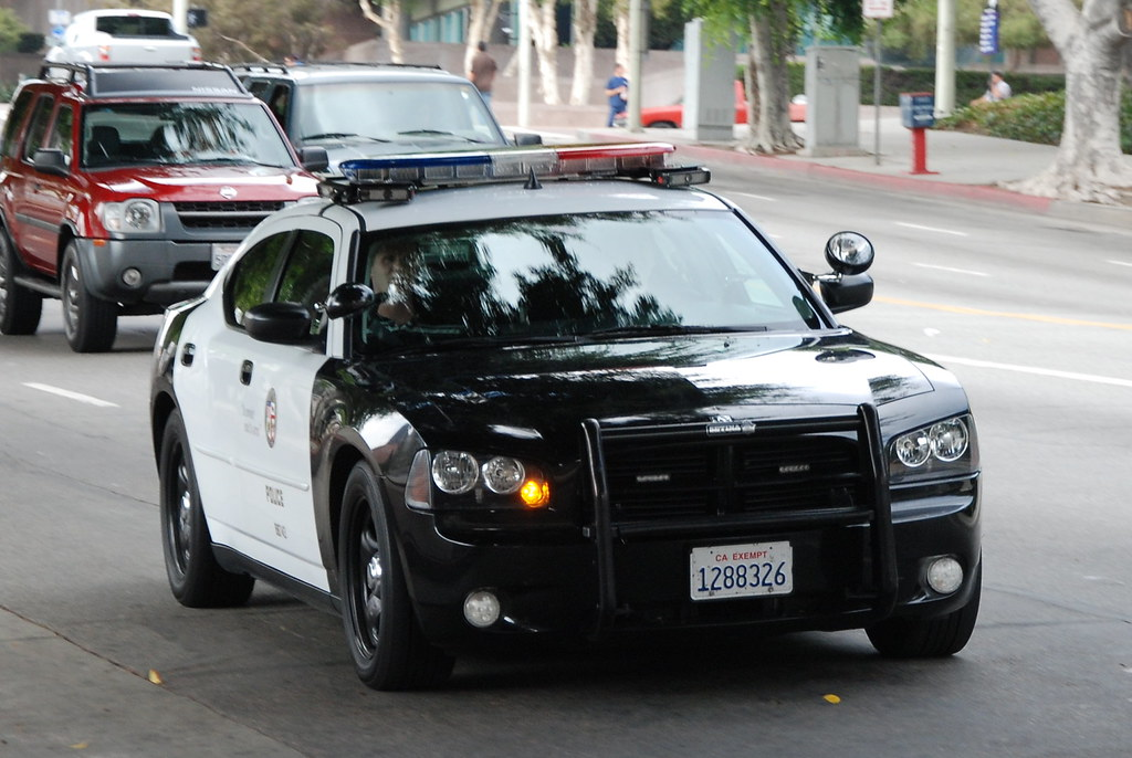 Los Angeles Police Department Lapd Dodge Charger Flickr