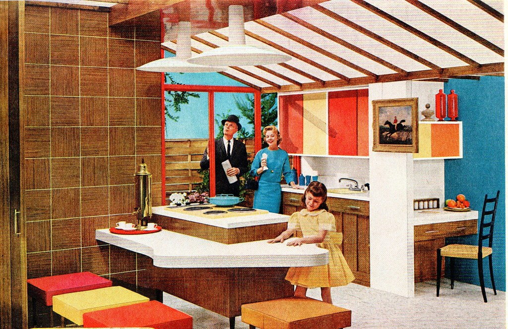 Kitchen 1960 Formica Ad Awesome Ethan Flickr Sportsuburban 1960s