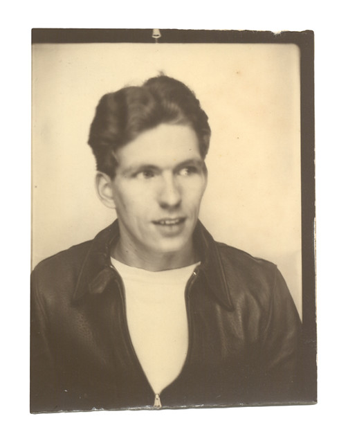 Photobooth Portrait Of A Young Man Ca 1950 Thf71705