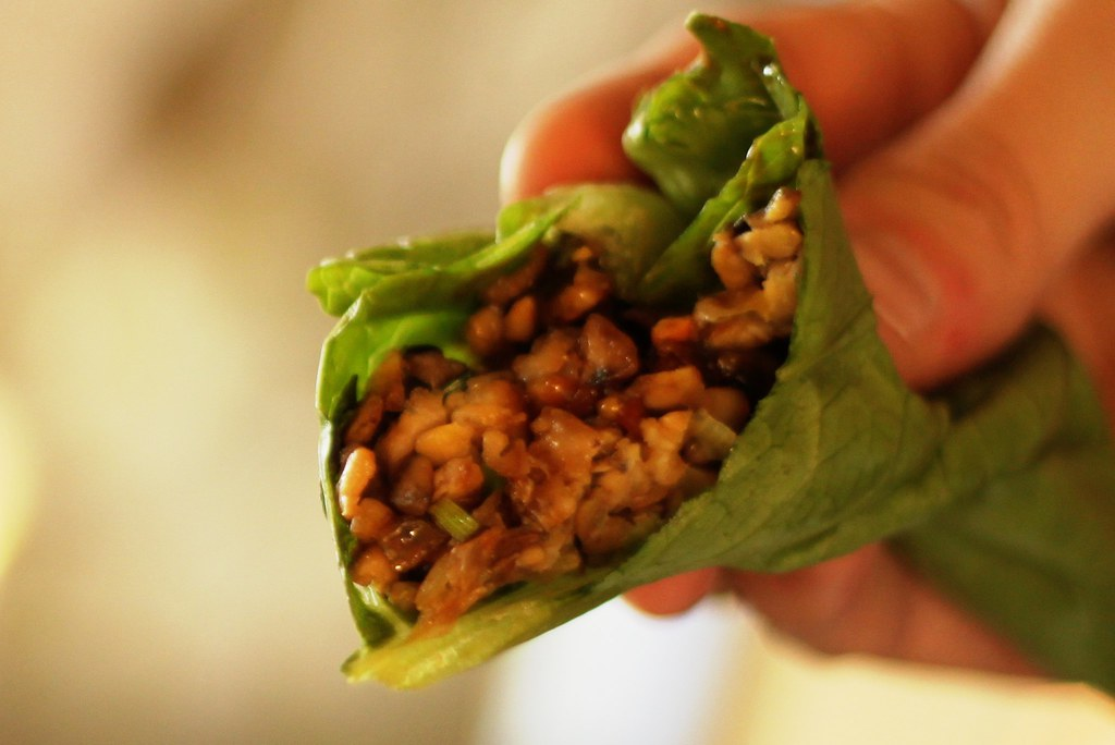 vegetarian tempeh lettuce wraps | Dear PF Chang, your ...