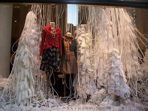 Athropologie rockefeller center New York Window Display | by Colorfly Studio