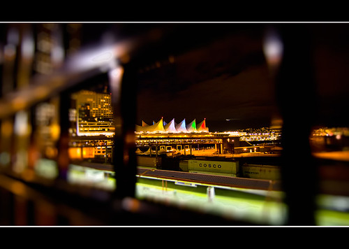 Canada Place Framed | by P Squared Pics