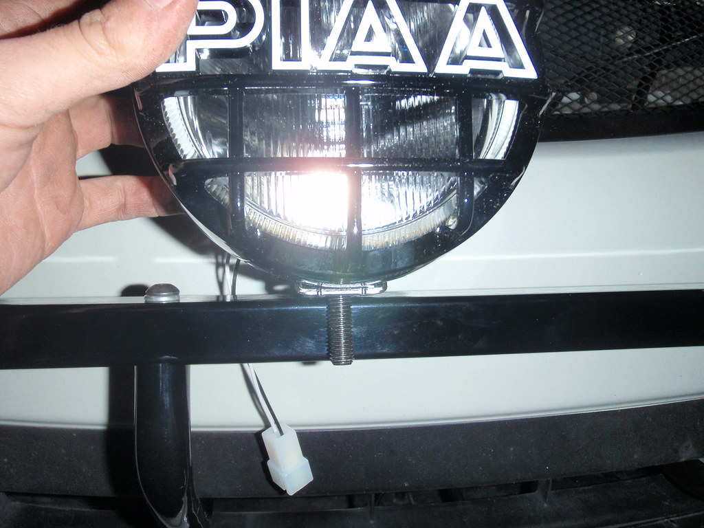 Mount piaa 510 on rrm light bar the rrm light bar is too t flickr mount piaa 510 on rrm light bar by schultzey mozeypictures Images