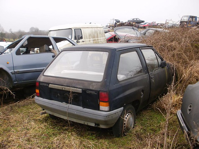 Old Opel Corsa | Low mileage. I wound back the clock today! | Scrawb ...
