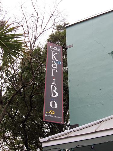 Cafe Caribou Fernandina Beach Florida