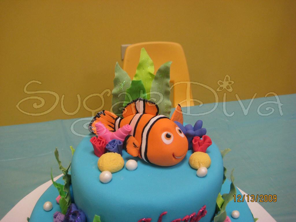 Nemo Cake Topper Sugar Diva Flickr