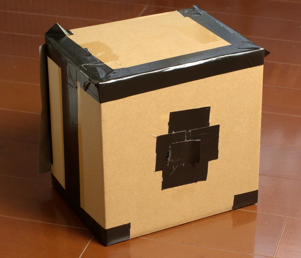 Make A Cardboard Dog Kennel