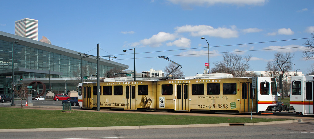 Advertising on RTD Light Rail | This is near the Colorado ...