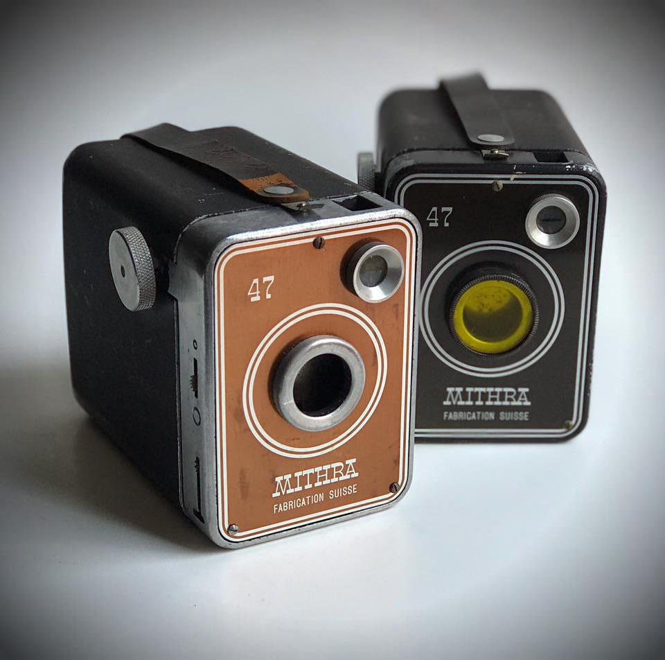 mithra 47 vintage box cameras 1947 mithra switzerland flickr