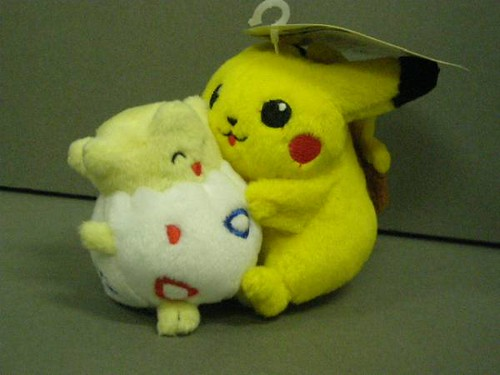 Pikachu And Togepi Company Tomy Set Friends Year S Flickr