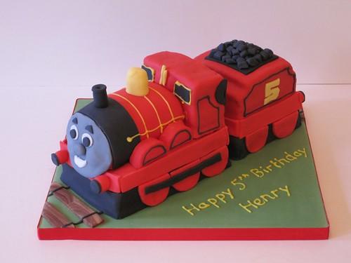 James The Train Cake Pan