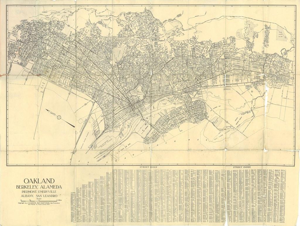 Pocket map of oakland berkeley alameda 1939 1939 expos flickr pocket map of oakland berkeley alameda 1939 by eric fischer publicscrutiny Image collections