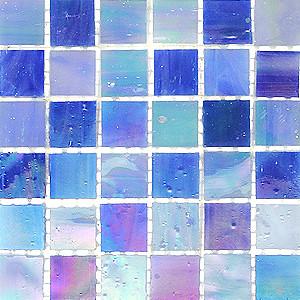 Carrelage mosaique p te de verre tiffany bleu lavande flickr for Carrelage mosaique pate de verre