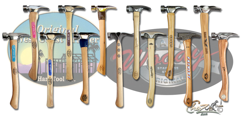 hart tool company framing hammer super set by chazferret