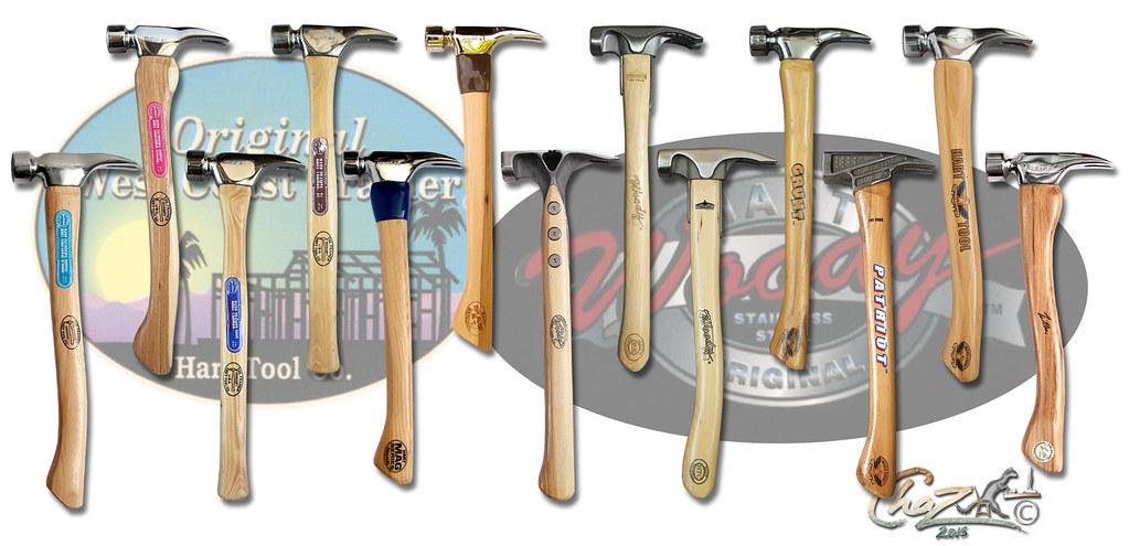 hart tool company framing hammer super set by chazferret