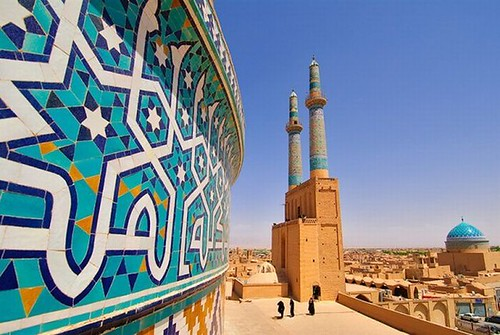 The Jāmeh Mosque of Yazd _Iran | by ali reza_parsi