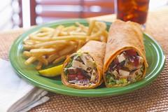 Chicken Caesar Wrap 2