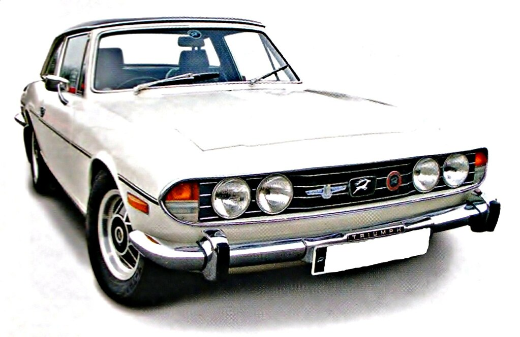 Triumph Stag   The Triumph Stag is a British car that was so…   Flickr