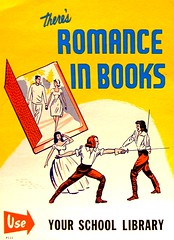RETRO POSTER - There's Romance in Books | by Enokson