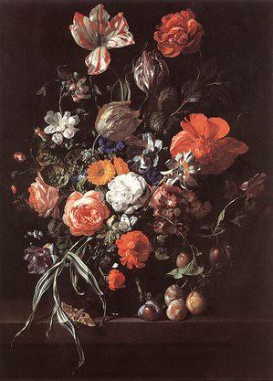 Stilleven met bloemen door rachel ruys 1703 www for Rachel s fairy doors