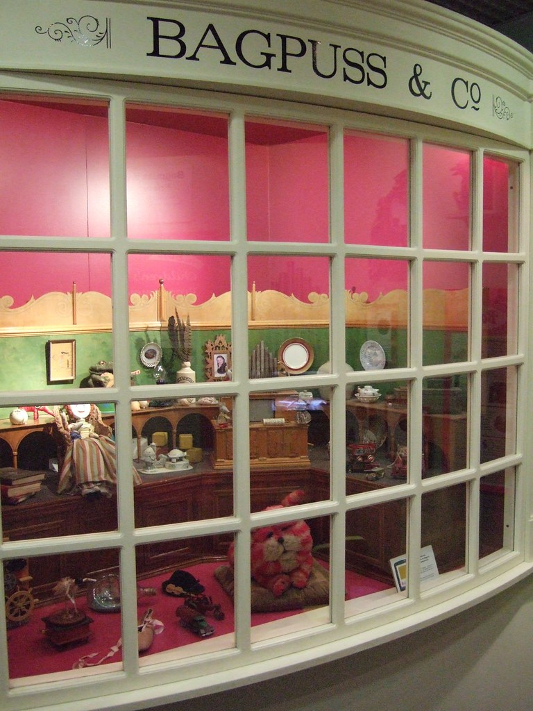 Bagpuss and co shop window ben sutherland flickr for New window company