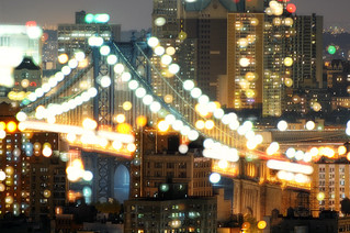 Manhattan Bridge at Night, New York City | by andrew c mace