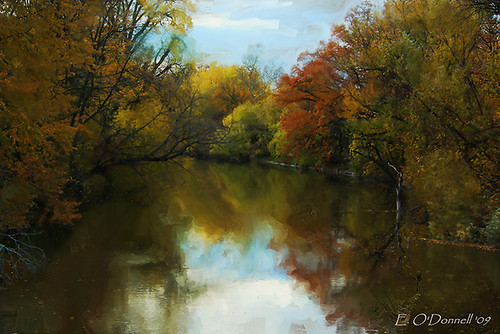 Clinton in Autumn_Painting | by ODimages