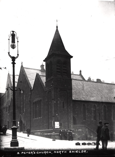 030167 St Peter S Church North Shields Unknown C 1910 Flickr