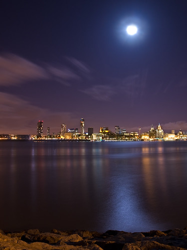 Moonlit city2 | by Pete Marsden