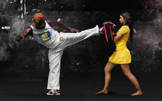 capoeira kick | lcozzolino | Flickr