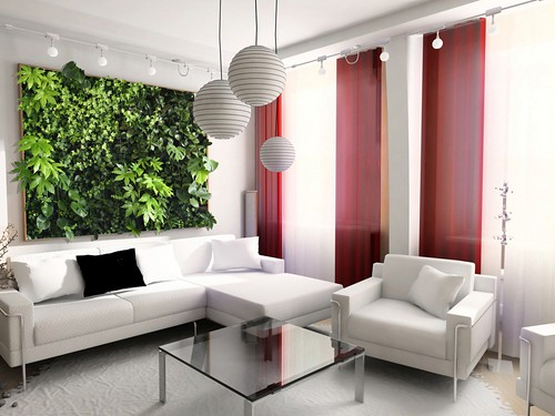 Photo Frame Wall Living Wall Framed Green Wall