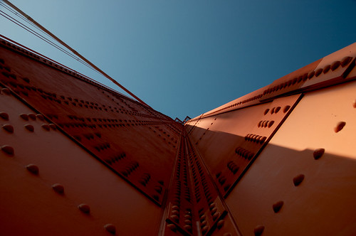 part of the golden gate | by Electric Arc