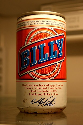 Unopened Can of Billy Beer | by fredabercrombie