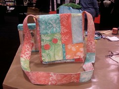 Purse I made with Sticky Back Canvas | by claudinehellmuth