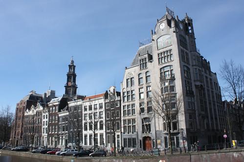 Amsterdam Greenpeace Ww S Headquarters Gerrit Van